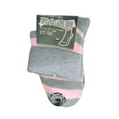 素色寬口襪-2804