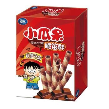 可口 【買一送一】小瓜呆脆笛酥巧克力量販包(210g/盒)