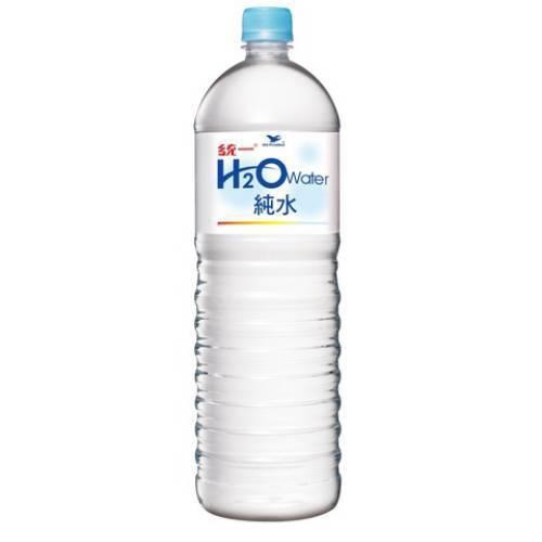 統一 H2O純水(1500ml/瓶)
