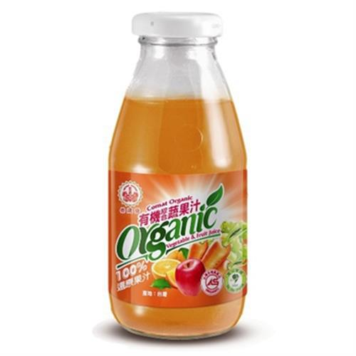 崇德發 有機綜合蔬果汁(295ml*4入/組)