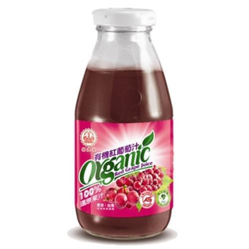 崇德發 有機紅葡萄汁(295ml*4入/組)