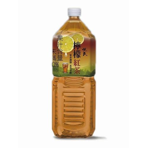 悅氏 檸檬紅茶(2000ml/瓶)