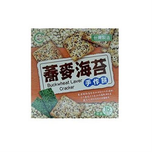品味本舖 蕎麥海苔手作餅(255g/盒)