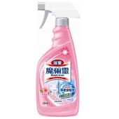 《魔術靈》浴室清潔劑玫瑰香噴槍瓶(500ml)