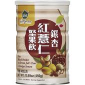 《薌園》銀杏紅薏仁堅果飲(450g*罐)