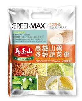 馬玉山 高纖山藥多穀蔬菜粥(35g×12pcs(包))