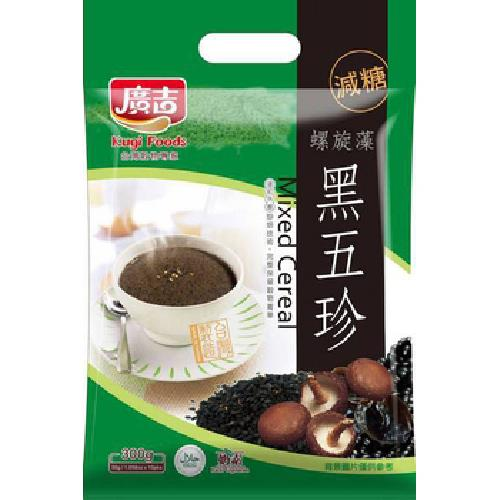 廣吉 減糖黑五珍(30g*10包/袋)
