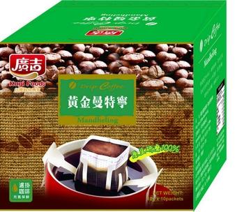 廣吉 濾掛咖啡曼特寧風味(10g*10入/盒)