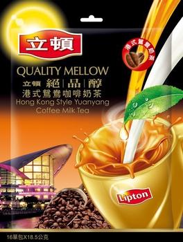 立頓 奶茶粉港式鴛鴦咖啡奶茶量販包(18.5g*16)
