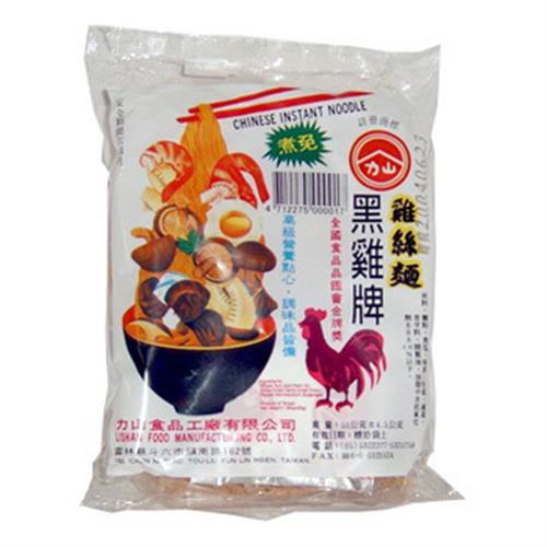 黑雞牌 雞絲麵(55g*5包/組)