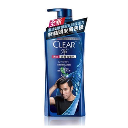 CLEAR淨 男士冰爽薄荷止癢洗髮乳(750ml/瓶)