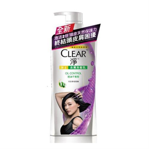 CLEAR淨 控油平衡洗髮乳(750ml/瓶)