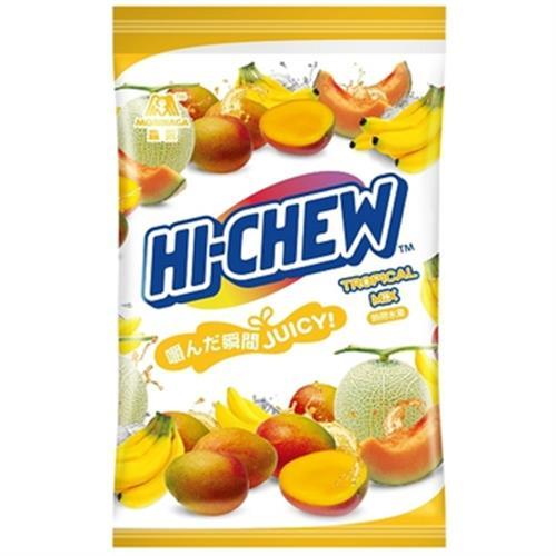 森永 嗨啾軟糖家庭包-熱帶水果(330g/包)