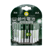 《FP》鹼性電池AA(1.5V) 12入/組3號電池