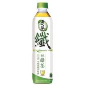 《原萃》日式纖綠茶(580ml*4瓶/組)