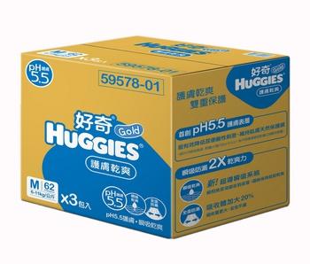 金好奇 PH5.5護膚紙尿褲(M*186片)