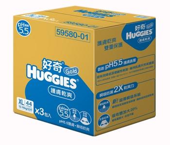 金好奇 PH5.5護膚紙尿褲(XL*132片)