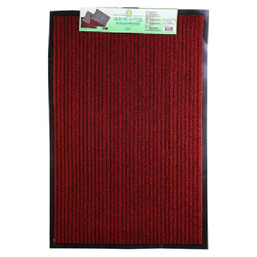 《FP》條紋吸水門墊-紅色(45*60cm)