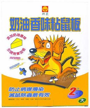 興農 奶油香味粘鼠板-大(25cm*30cm)