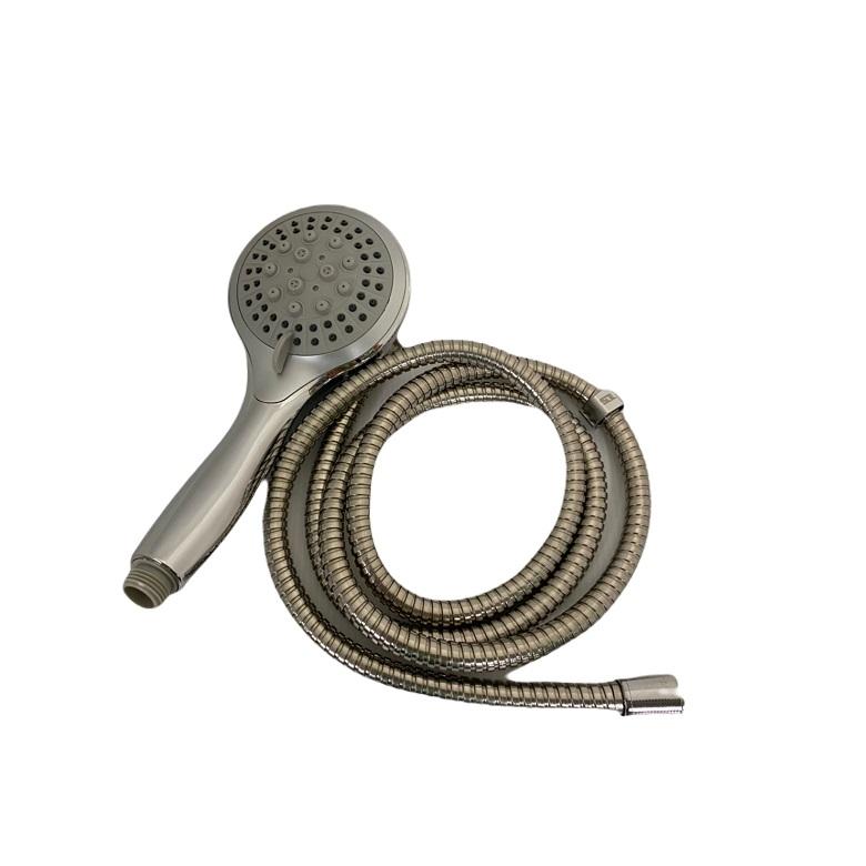 多段式蓮蓬頭附不鏽鋼軟管(180CM)
