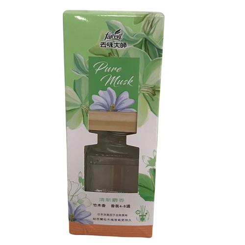 去味大師 竹木香-清新麝香(80ml/瓶)