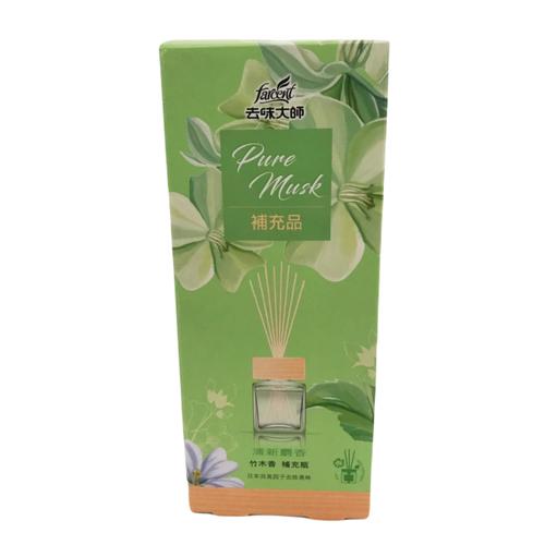《去味大師》竹木香補充品-清新麝香(90ml/瓶)