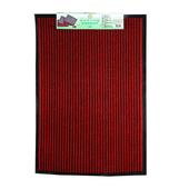 《FP》條紋吸水門墊(60*90cm*紅色/大)