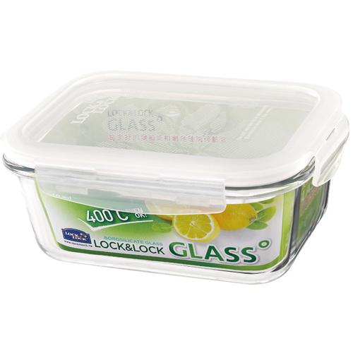 樂扣樂扣 耐熱玻璃保鮮盒長方形(730ML)