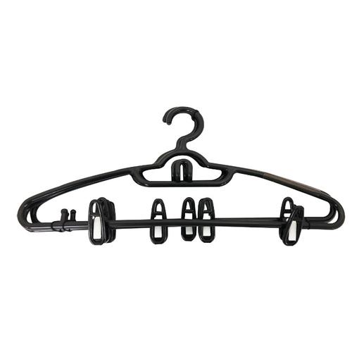 《艾克思》PAZ衣架串掛式附夾(3入一組)