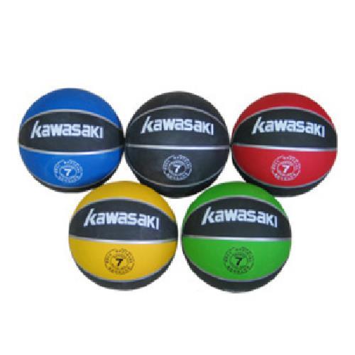 KAWASAKI 雙色高級籃球 7號(顏色隨機)