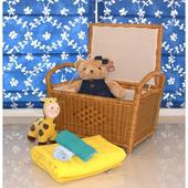 《DecoBox》鄉村風雜物收納箱(非坐箱)