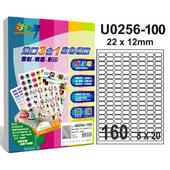 《彩之舞》160格 進口3合1白色標籤U0256-100*2包