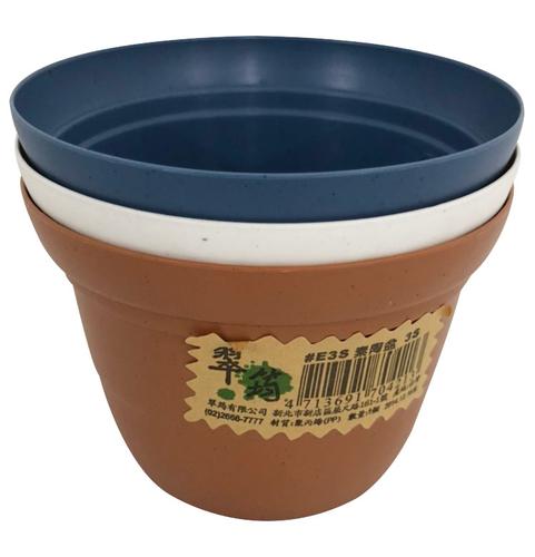 3S素陶盆(9*6.3CM)