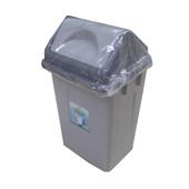 《FP》搖蓋垃圾桶10L-(混色)(24公分x20公分x39公分)