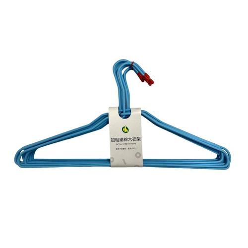 《FP》特級加粗大衣架-藍-10入(43.5*21公分)