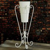 《DecoBox》陽光藝術刷白萬用花架
