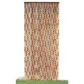 《DecoBox》日式鄉村風雙色竹圈簾(90*200)