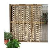 《DecoBox》日式鄉村風原色竹圈簾(90*100)