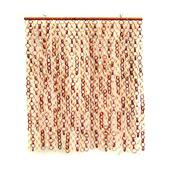 《DecoBox》日式鄉村風雙色竹圈簾(90*100)