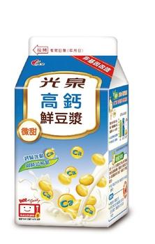 光泉 豆漿-高鈣(450ml/瓶)