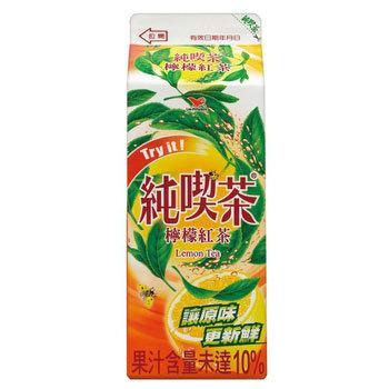 統一純喫茶 檸檬紅茶(650ml/瓶)