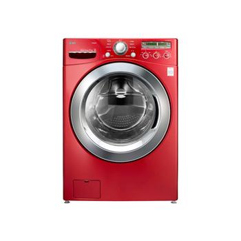 LG 6 Motion蒸氣滾筒洗衣機深艷紅 /17公斤(WD-S17NRW)~基本安裝+舊機回收+分期優惠