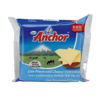 安佳 較低脂乳酪(12片 250g /包)
