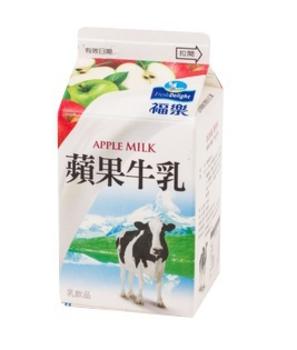 福樂牛乳 蘋果(385ml)