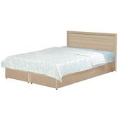 《時尚屋》Terry5尺同系色床片型後封邊雙人床WG-5set2-不含床墊(白橡色)
