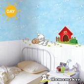 《Decoin》小狗與小貓-夜光造型創意壁貼(HS-SWSTL01)(32cmX60cm)