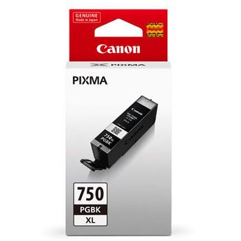 CANON PGI-750XL-BK 原廠黑色高容量XL墨水匣