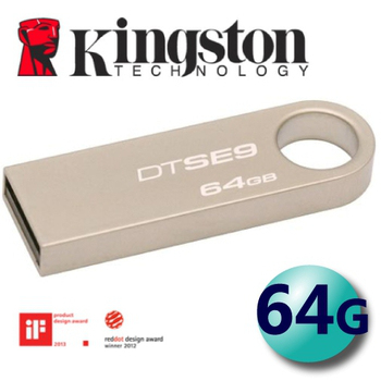 金士頓 Kingston 64GB DataTraveler SE9 USB2.0 隨身碟 (DTSE9)
