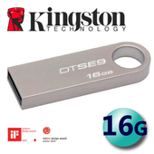 《金士頓 Kingston》16GB DataTraveler SE9 USB2.0 隨身碟 (DTSE9)