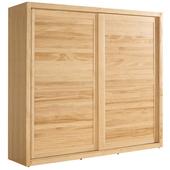 伊登7尺實木衣櫥003-6